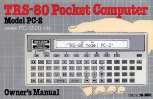 TRS-80 PC2 Owners