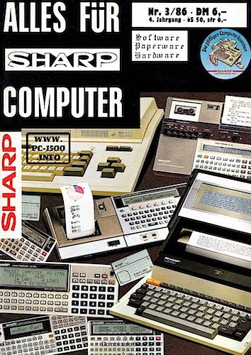 Alles für Sharp Computer ? - PC-1500 info