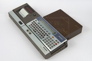 IWS video interface connected to the Sharp CE-150 front view