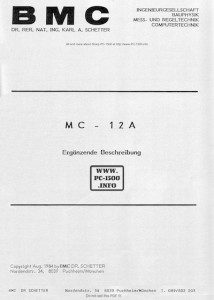 BMC_MC-12A_Supplement