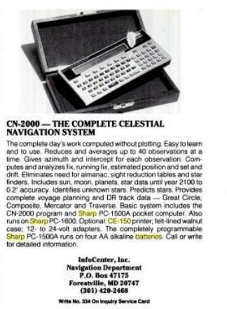 CN-2000 Celestial navigation