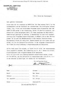 Clubzeitung courrier