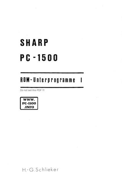 ROM_Unterprogramme